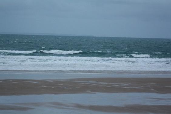 Des vagues très agitées