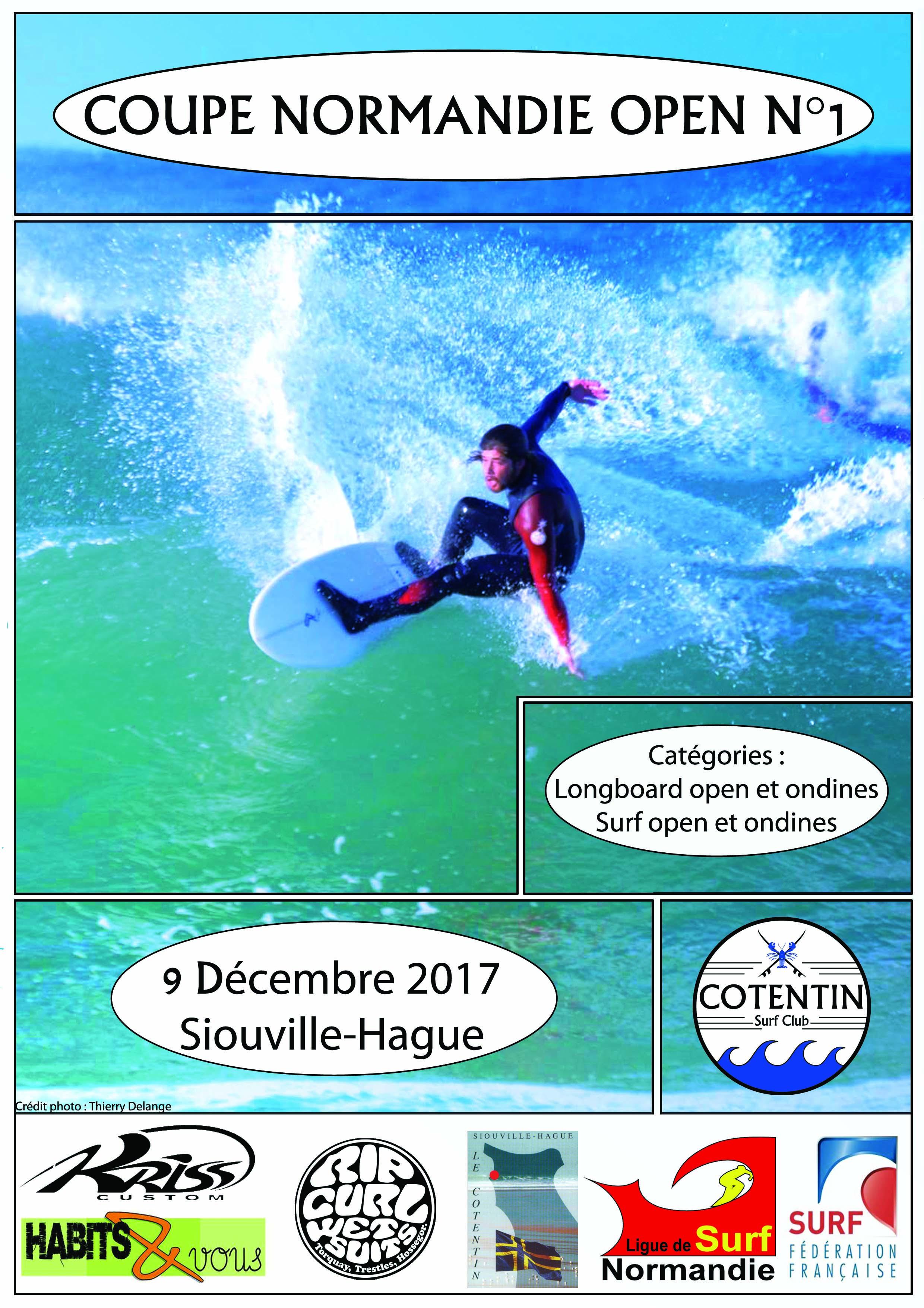 Lancement des compétitions 2018… Samedi 9 Décembre à Siouville