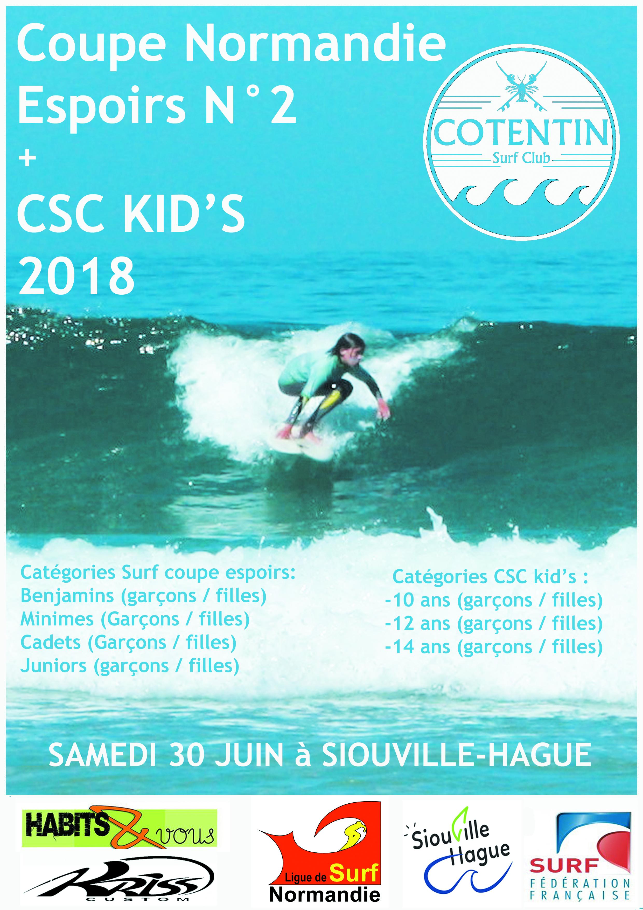 Coupe surf Normandie espoirs N°2 SAmedi 30 Juin
