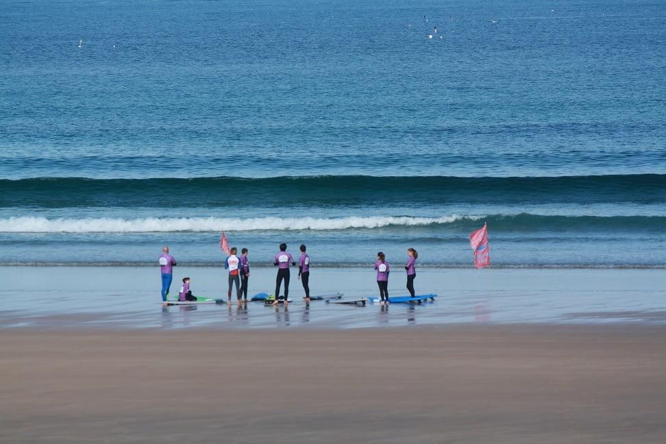La saison de l'école de surf est lancée