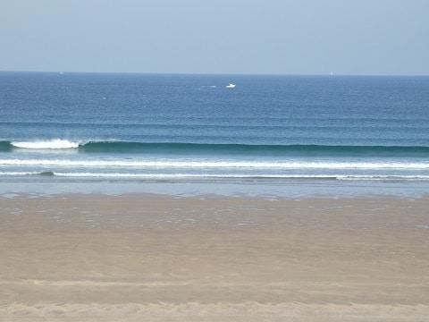 Petites vagues offshore