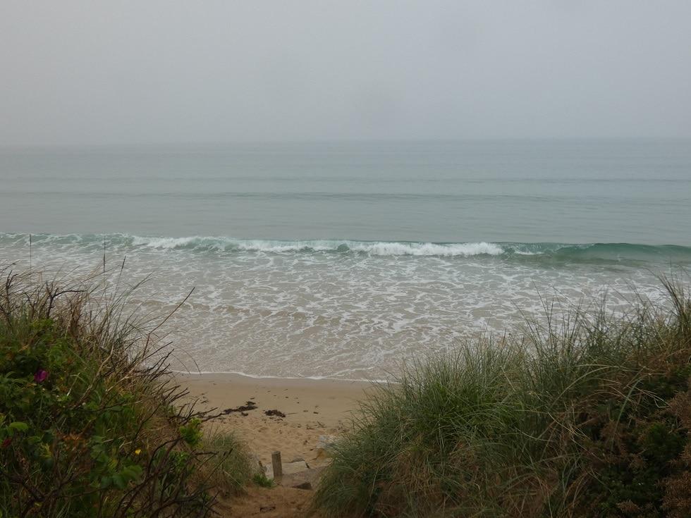 Petites vagues propres