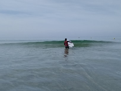 Pendant ce temps là au Rozel, ça surf !