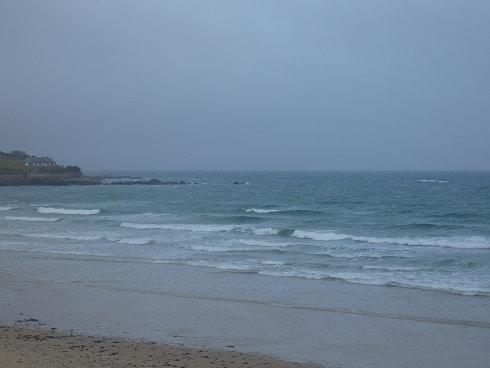 Petites vagues agitées