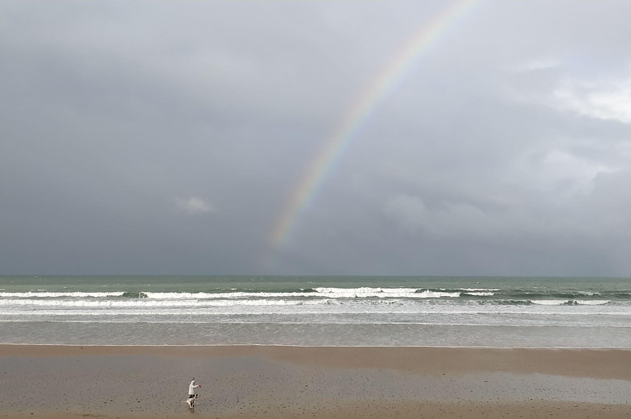 Surf avant le retour de la tempête