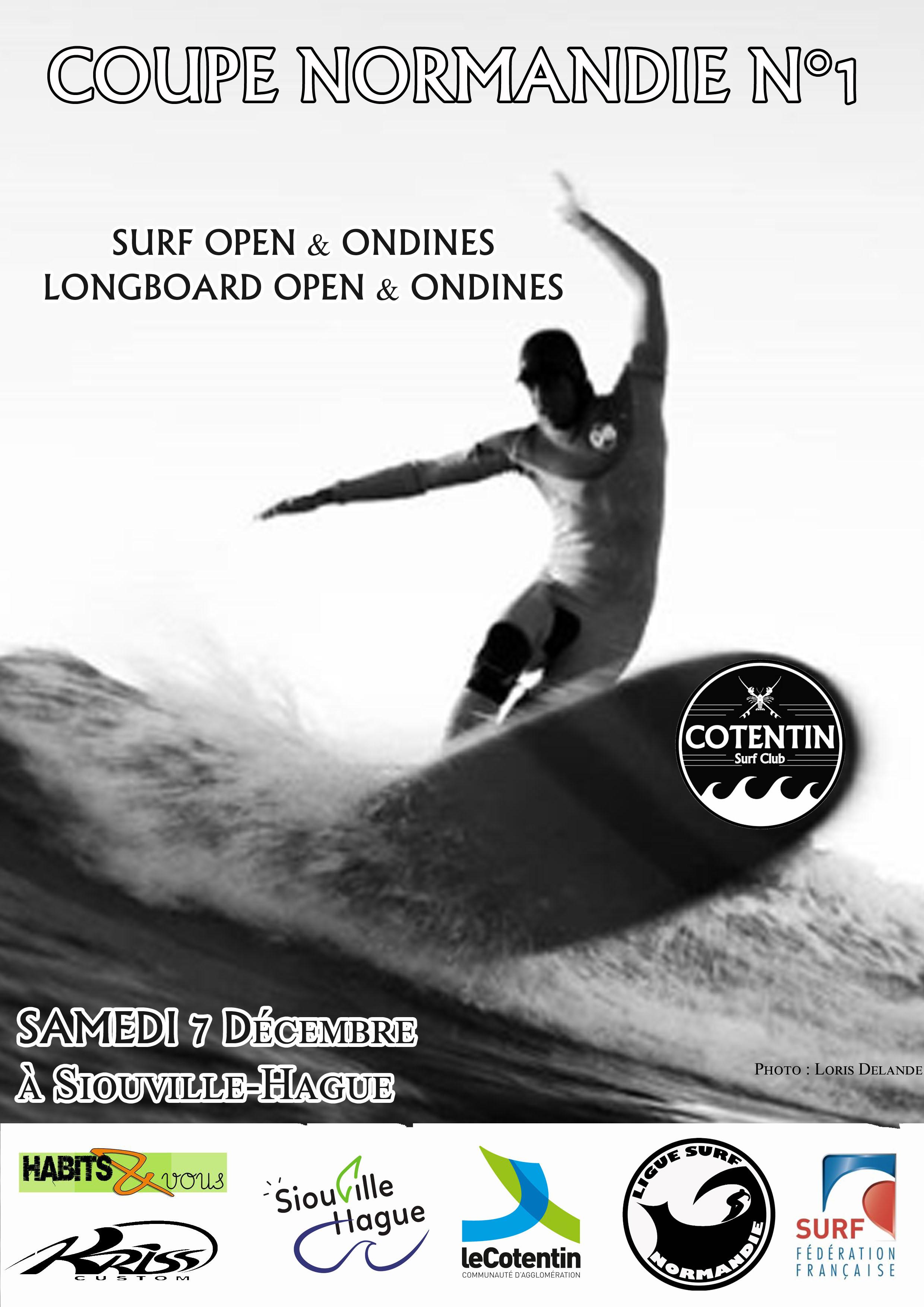 Coupe Surf / Longboard Normandie N°1