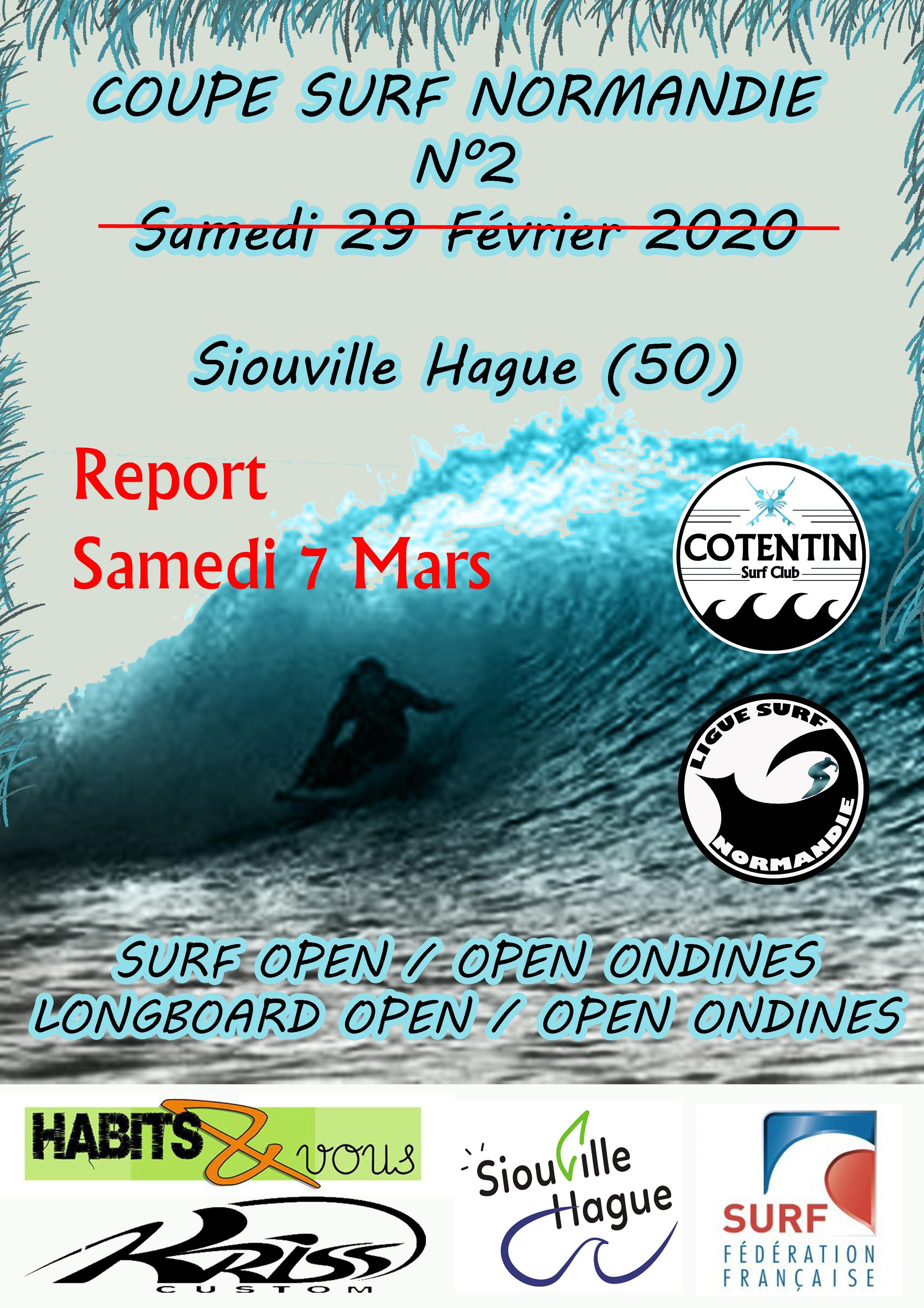 Coupe Normandie N°2 Validée samedi 7 Mars
