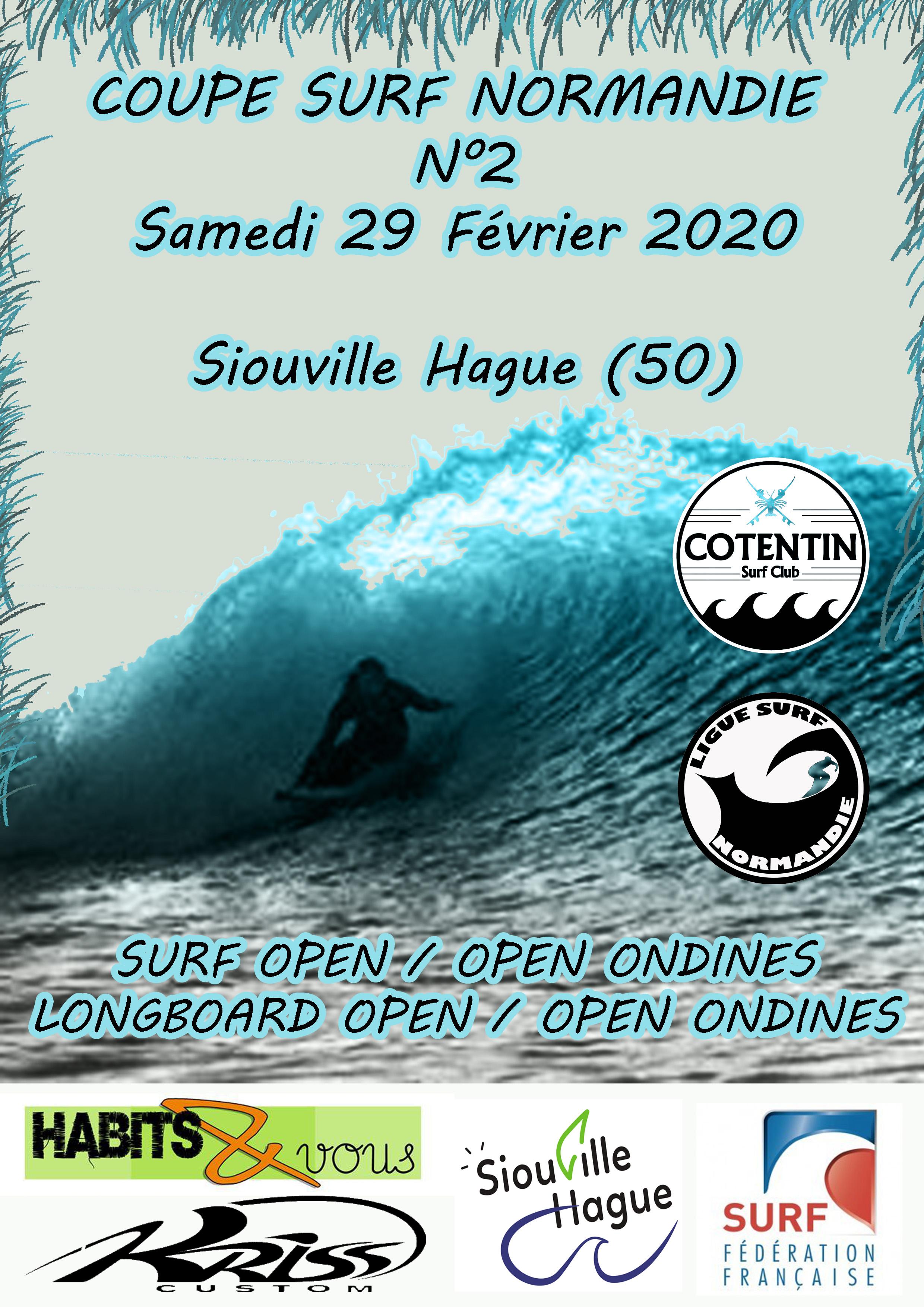 COUPE SURF / LONGBOARD NORMANDIE N°2