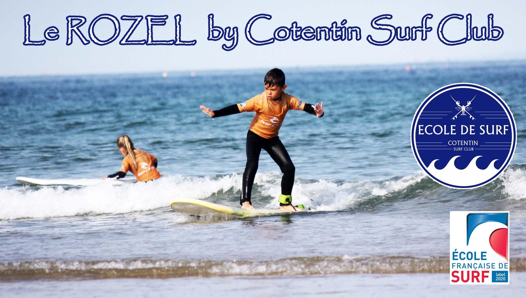 L'école de surf au Rozel ouvrira cet été !