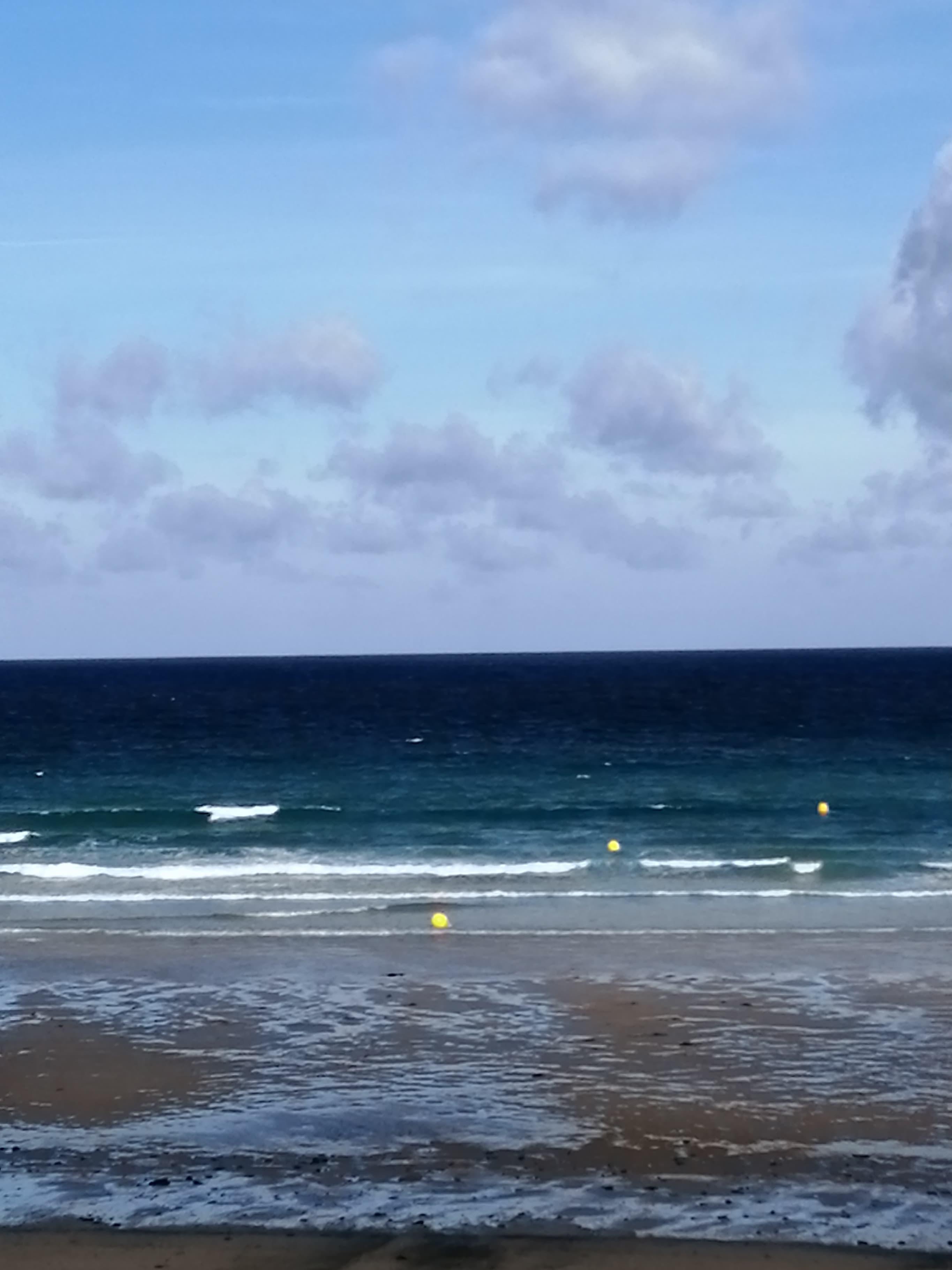 Petites vagues agitées …