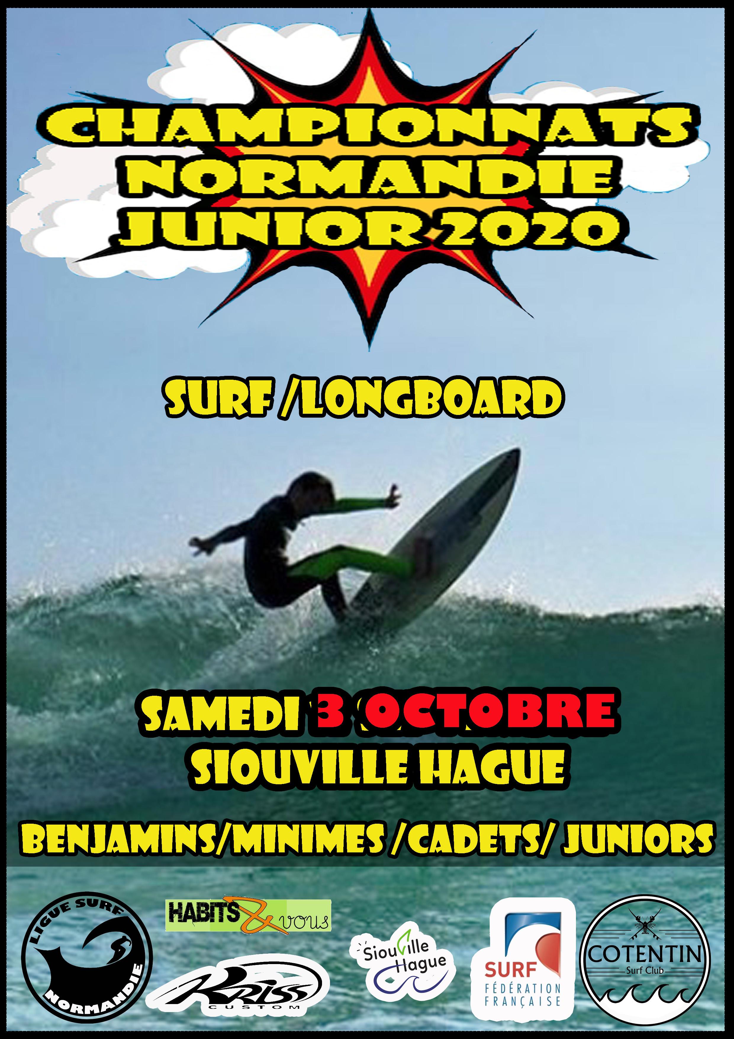 Championnats Normandie Espoirs reportés au 3 Octobre