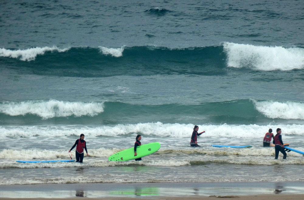 """Réouverture """"timide"""" du Cotentin Surf Club"""