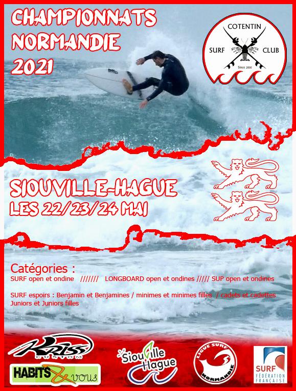 Championnats Normandie 2021 validés !!
