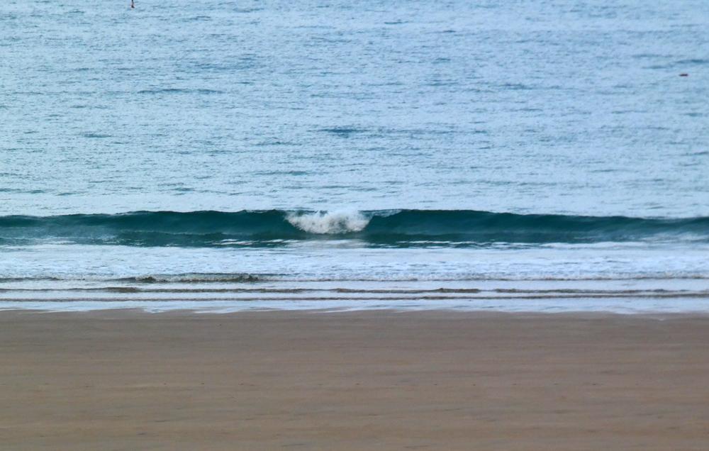 C 'est un peu juste pour surfer !!!