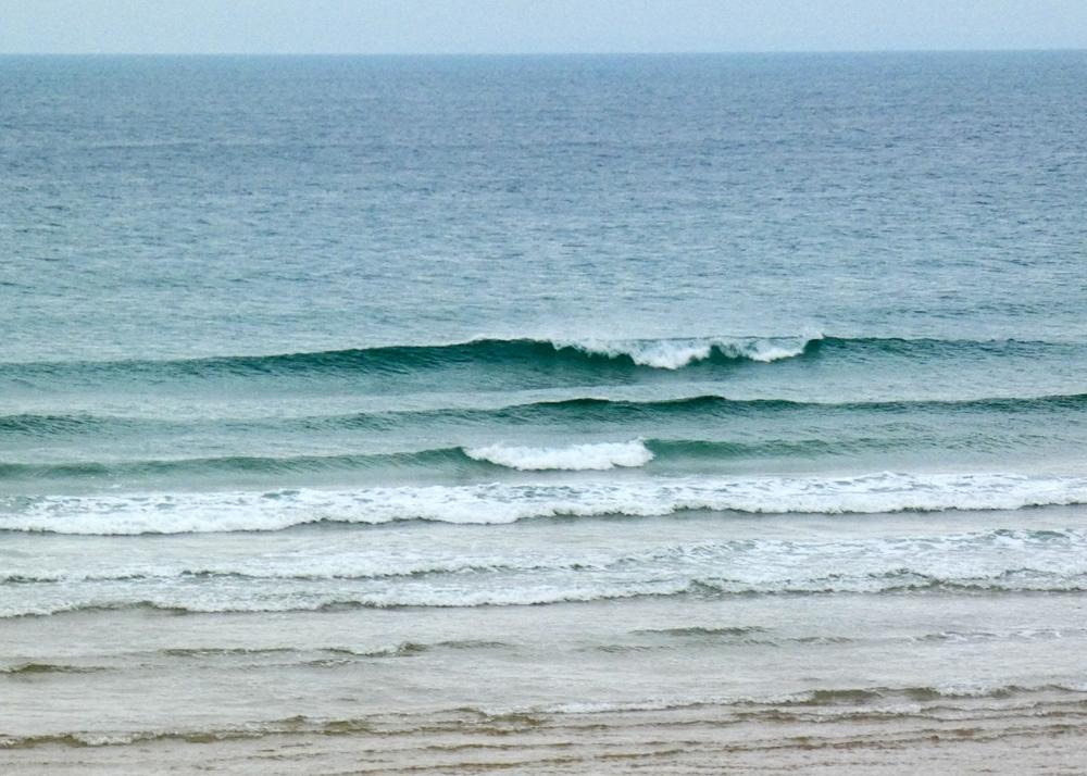 Petites vagues vent SUD en hausse